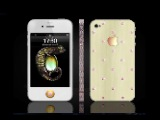 iPhone en diamants roses de Sun & Moon